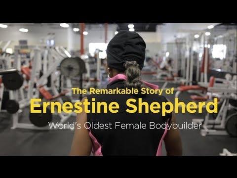 The Remarkable Story of Ernestine Shepherd: The World's Oldest Body Builder