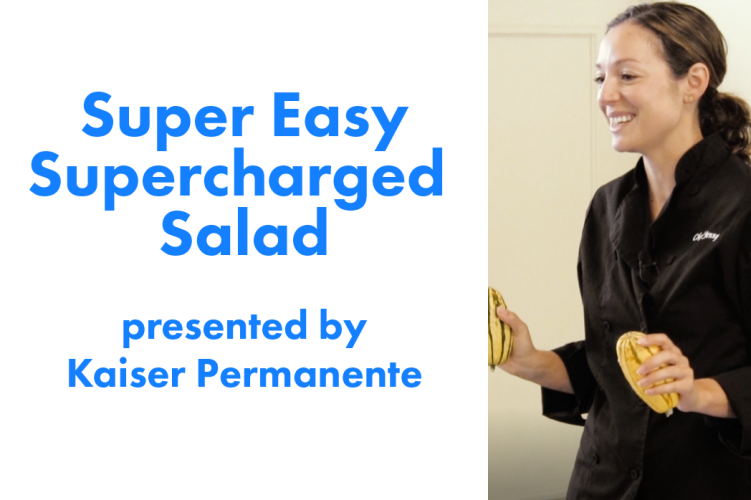 Learn to Make Super Easy Supercharged Salad With Chef Jenny