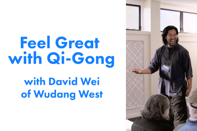 Amazing Intro to Qi-Gong With David Wei